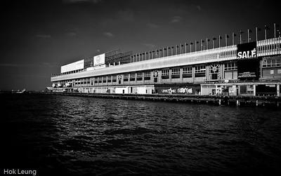 Hong Kong China Ferry Terminal (中國客運碼頭), located at 33 Canton Road, Tsim Sha Tsui, Kowloon, Hong Kong.