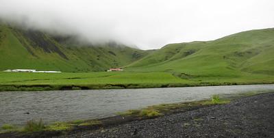 Boerderij bij Skógafoss