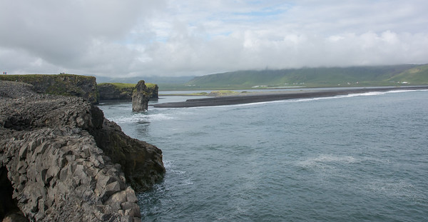 Baai bij Dyrhólaey