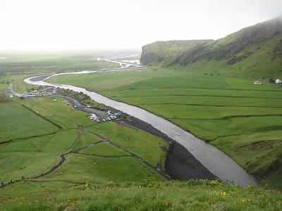 Skóga-rivier en kustvlakte