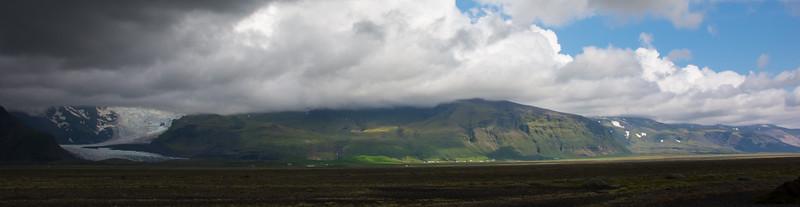 Stukje van de zuidelijke kant van de Vatnajökull