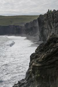 Kliffen bij Dyrhólaey