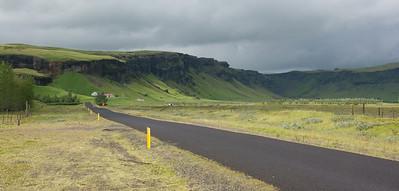 Landschap bij Kirkjubæjarklaustur