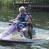 My ***81*** year old mother in law driving a jet ski....What a lady...She knew how to have fun...