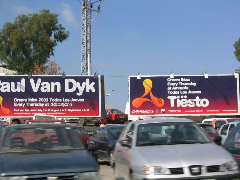Cream closing party in Amnesia with Tiësto and Paul van Dyk. Woohoo! Sooo great!