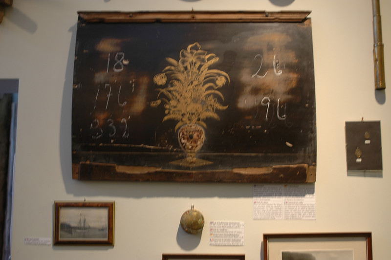 Lid of Dutch trader, shipwrecked on the Icelandic cost. Used as Psalmboard in a local church