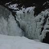 Frozen water at Gulfoss