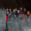 The whole caving group