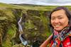 Fjaðrárgljúfur cliffs