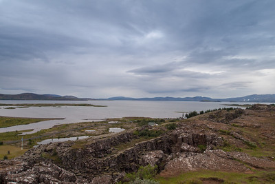 Thingvallavatn lake in Thingvellir