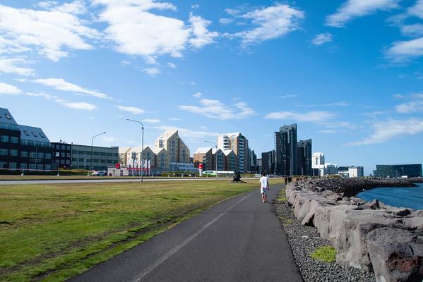Reykjavik Harbor - city center