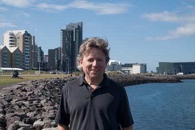Roger at Reykjavik harbor