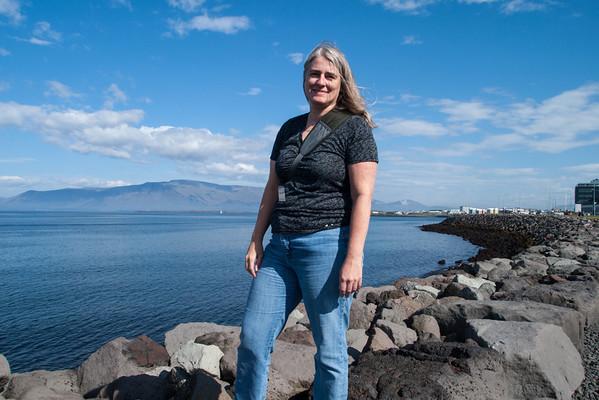 Barbara at Reykjavik Harbor