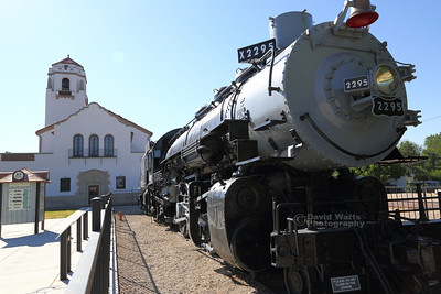 Big Mike Steam Engine Boise Depot