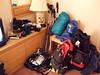 My gear corner.