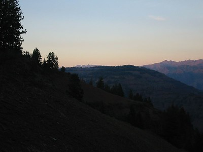 In eastern Oregon looking toward Idaho (across Hell's Canyon)