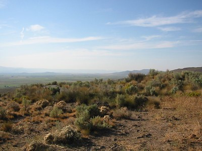 view from Oregon Trail Interpretive Center