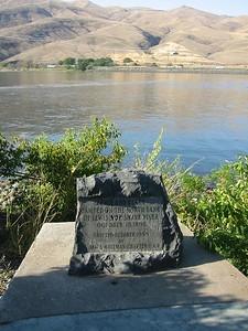 Lewis and Clark marker, Lewiston, Idaho