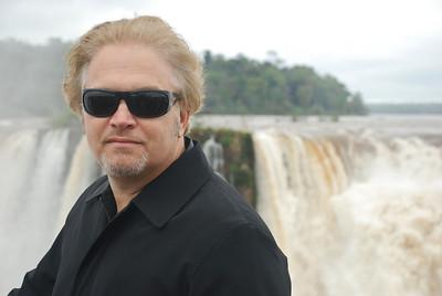 Wes in Prada Sunglasses at Igauza Falls