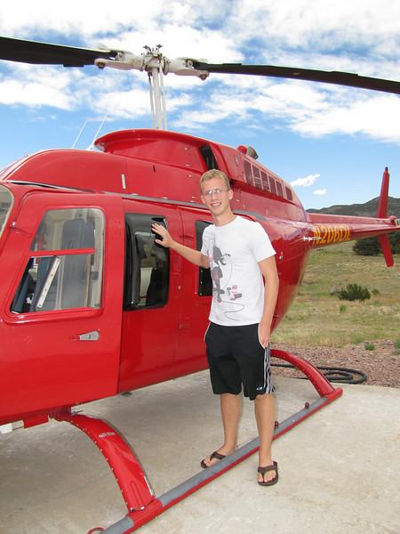 In Colorado Taking Chris to AFA