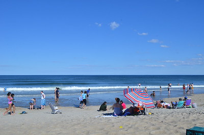 North Hampton Beach - July 3, 2017 - Water temperature 52 F