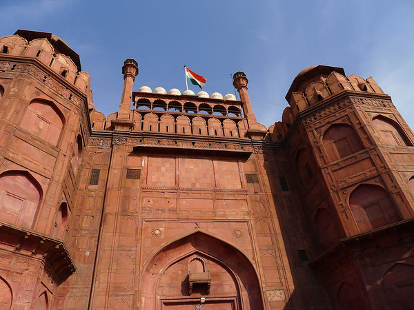 Red Fort Delhi Gate: Old Delhi, India