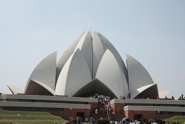 Lotus Temple: New Delhi, India