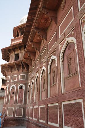Jahangiri Mahal (Agra Fort): Agra, India