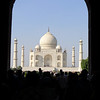 Taj Mahal Entrance: Agra, India