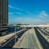 Looking down the road to the Burj Al Arab Jumeirah.