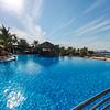The pool at Le Méridien Mina Seyahi Beach Resort & Marina.
