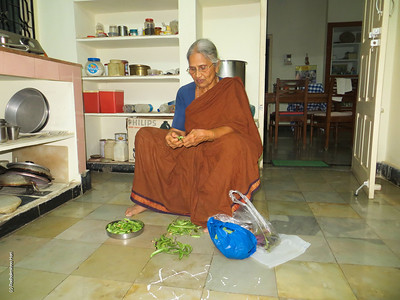 Amma has to keep doing something, always