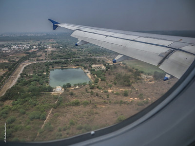 Into Hyderabad Airport
