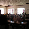 Presenting a talk to the medical staff in Xin Barag Zuoqi