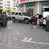 Auto repair shop, downtown Hailar.
