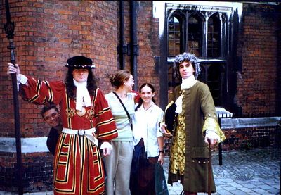 Scans from my trip with People 2 People Student Ambassadors to Western Europe, summer 1999. Hampton Court Western Europe with People to People Student Ambassadors, July 1999.