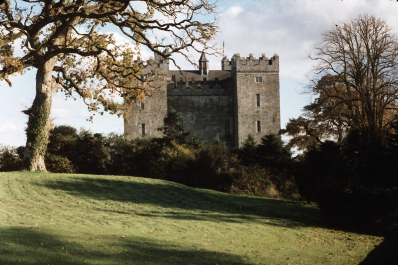 A stone's throw away is Bunratty Castle and Folk Park. The castle is the third to have been built on the site, beginning in ~1250AD. The current castle was built in the mid-fifteenth century, and has been restored (starting in the 1950's) to its state in 1619.