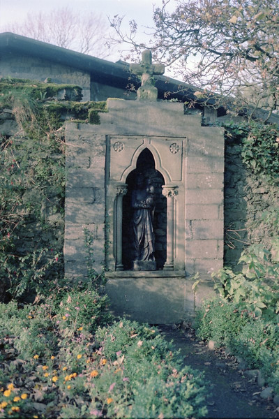 Shrine in the grounds of Bunratty Castle.
