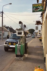 Irish gas station