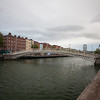 Ha'penny Bridge looking east