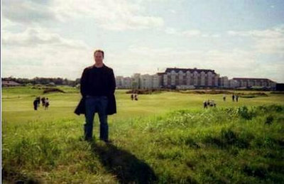 The Old Course at St. Andrews (and my future album cover?)