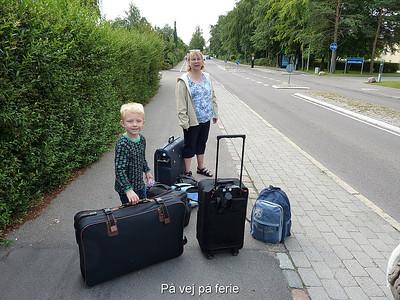 På vej på ferie