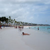 Bavaro Beach:  Land of topless women and banana hammocks