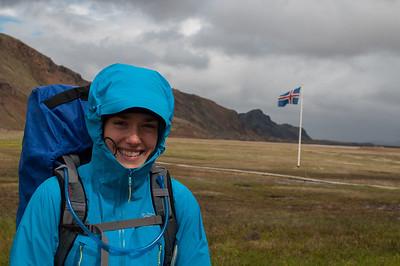 Départ du Trek à Landmannalaugar