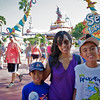 At the Dr.Seuss' section in Islands of Adventures