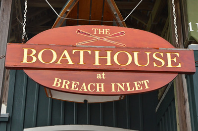 The Boathouse came recommended to us for dinner, dolphins in the river and a great sunset.