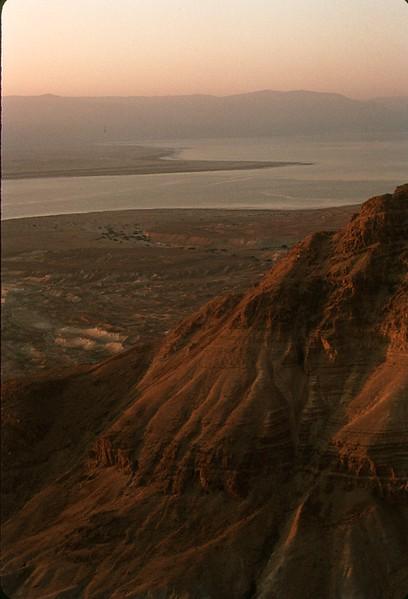 Dead Sea, seen from the top of Masada