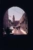 Walking near the Jaffa Gate in the Old City of Jerusalem