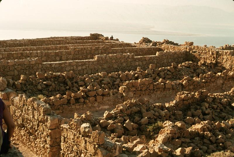 Storerooms on Masada