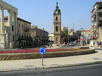 Beginning of the old city of Jafa